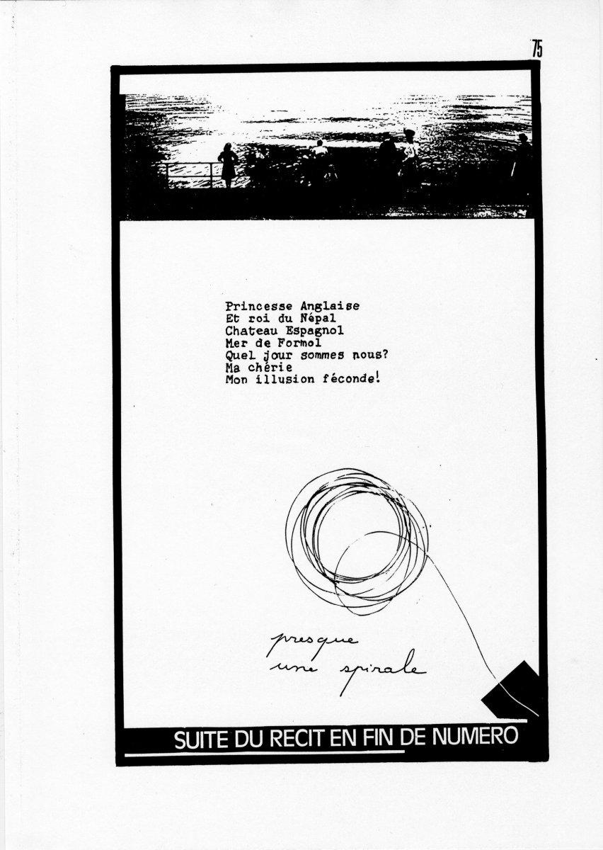 page 0075 P. Boulouis TELEGRAMMES ( 1 )