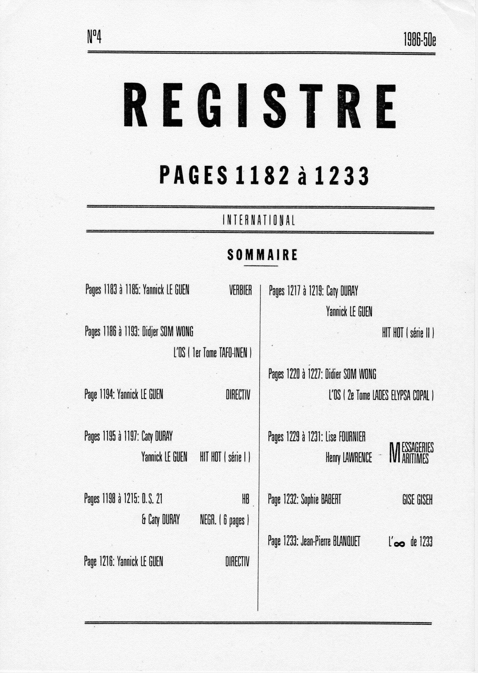 page 1182 la une