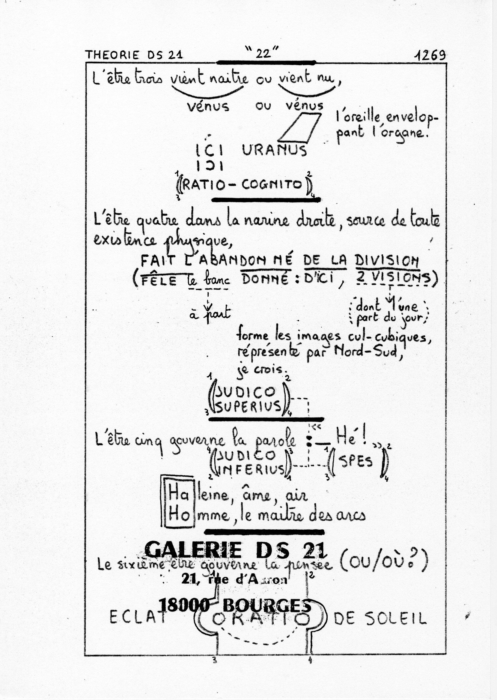 page 1269 Théorie D.S. 21 22