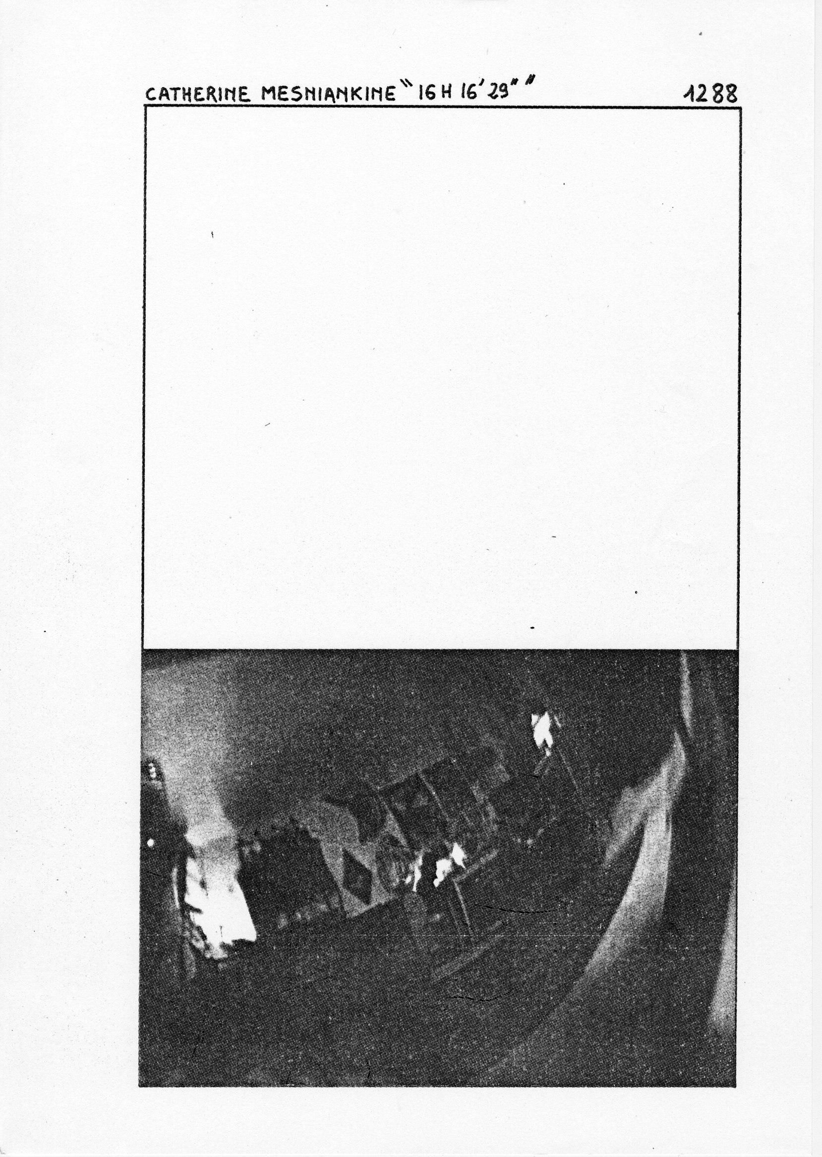 page 1288 C. MESNIANKINE 16 H 16' 29''