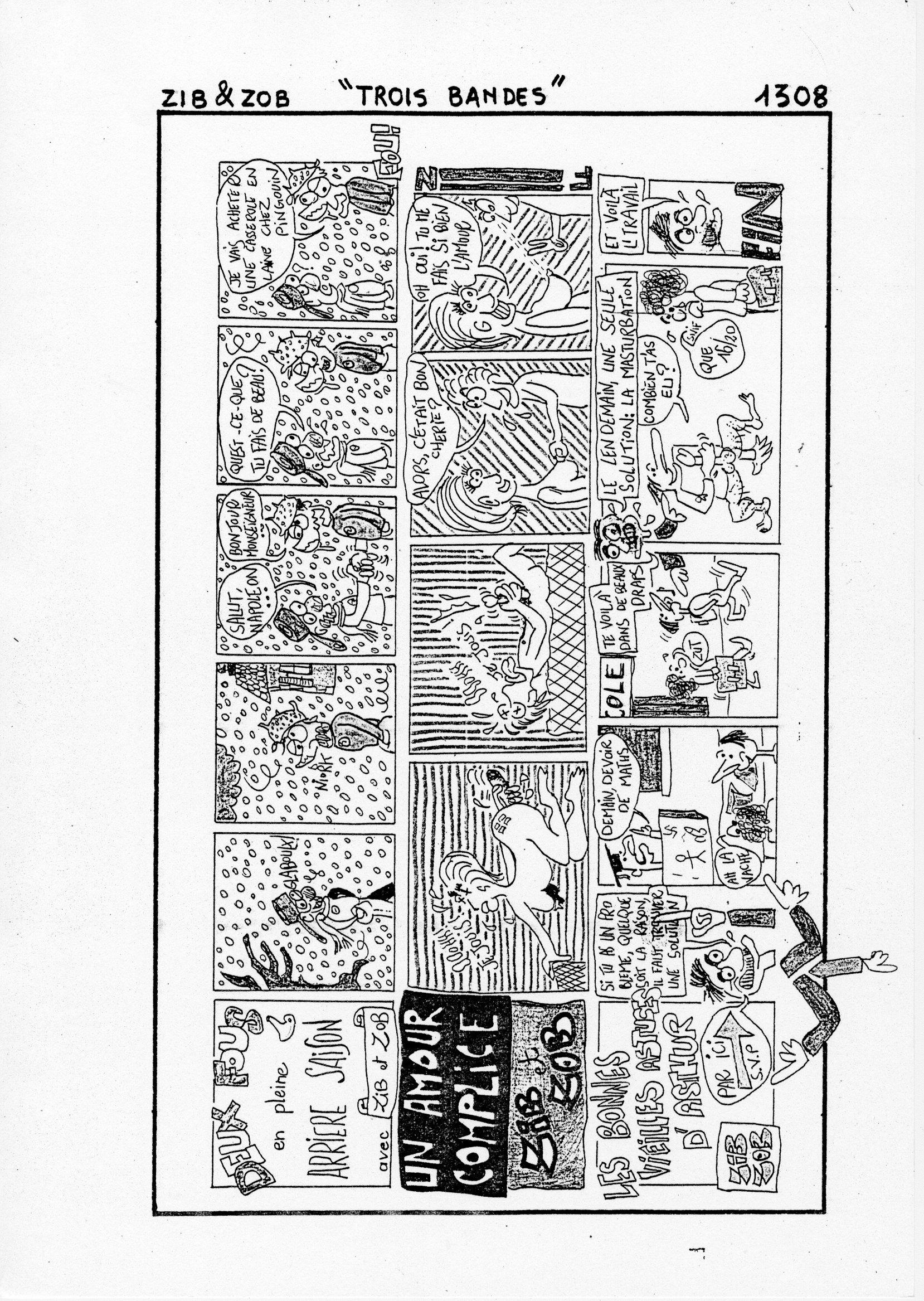 page 1308 Zib et Zob TROIS BANDES