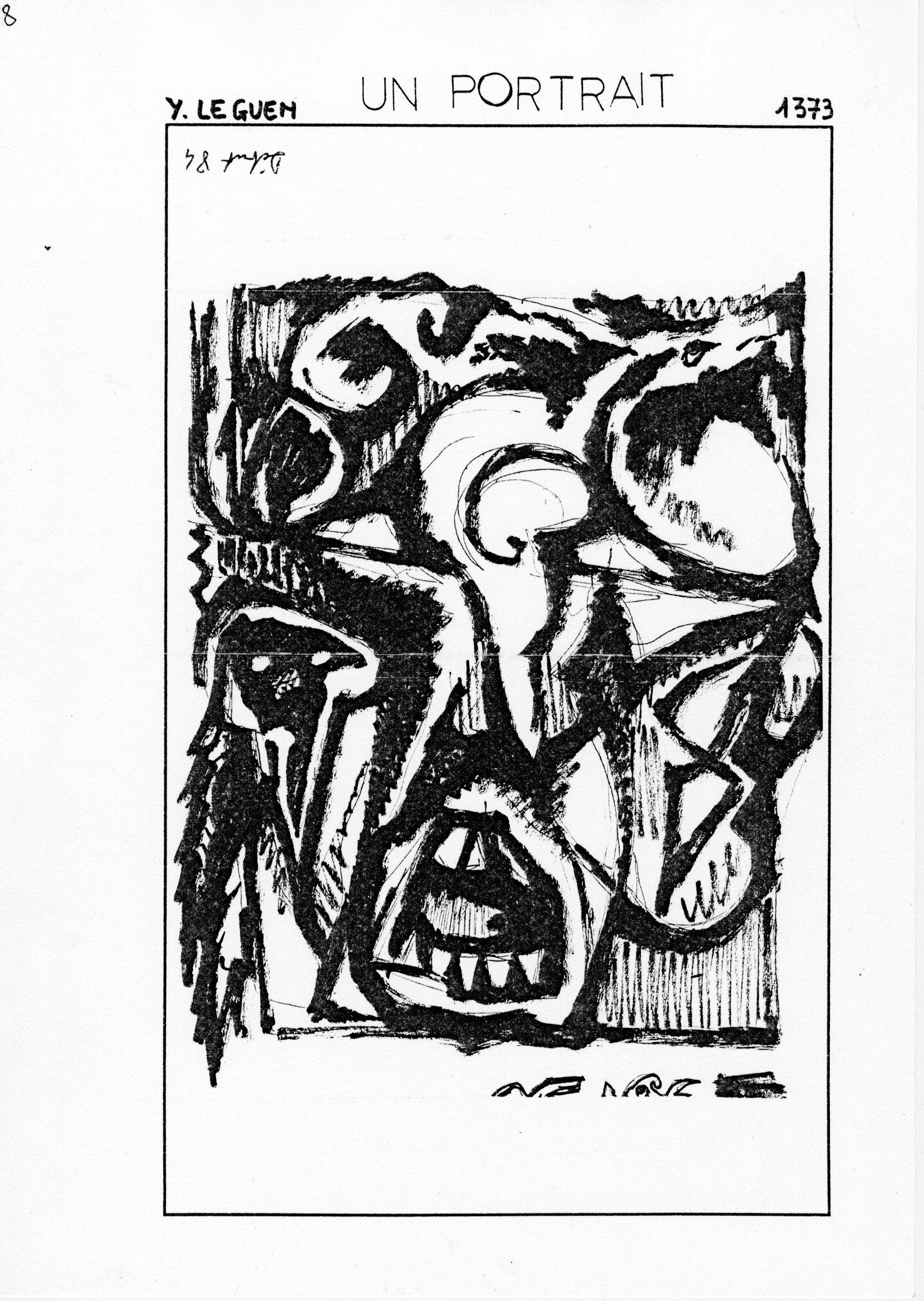 page 1373 Y. Leguen UN PORTRAIT