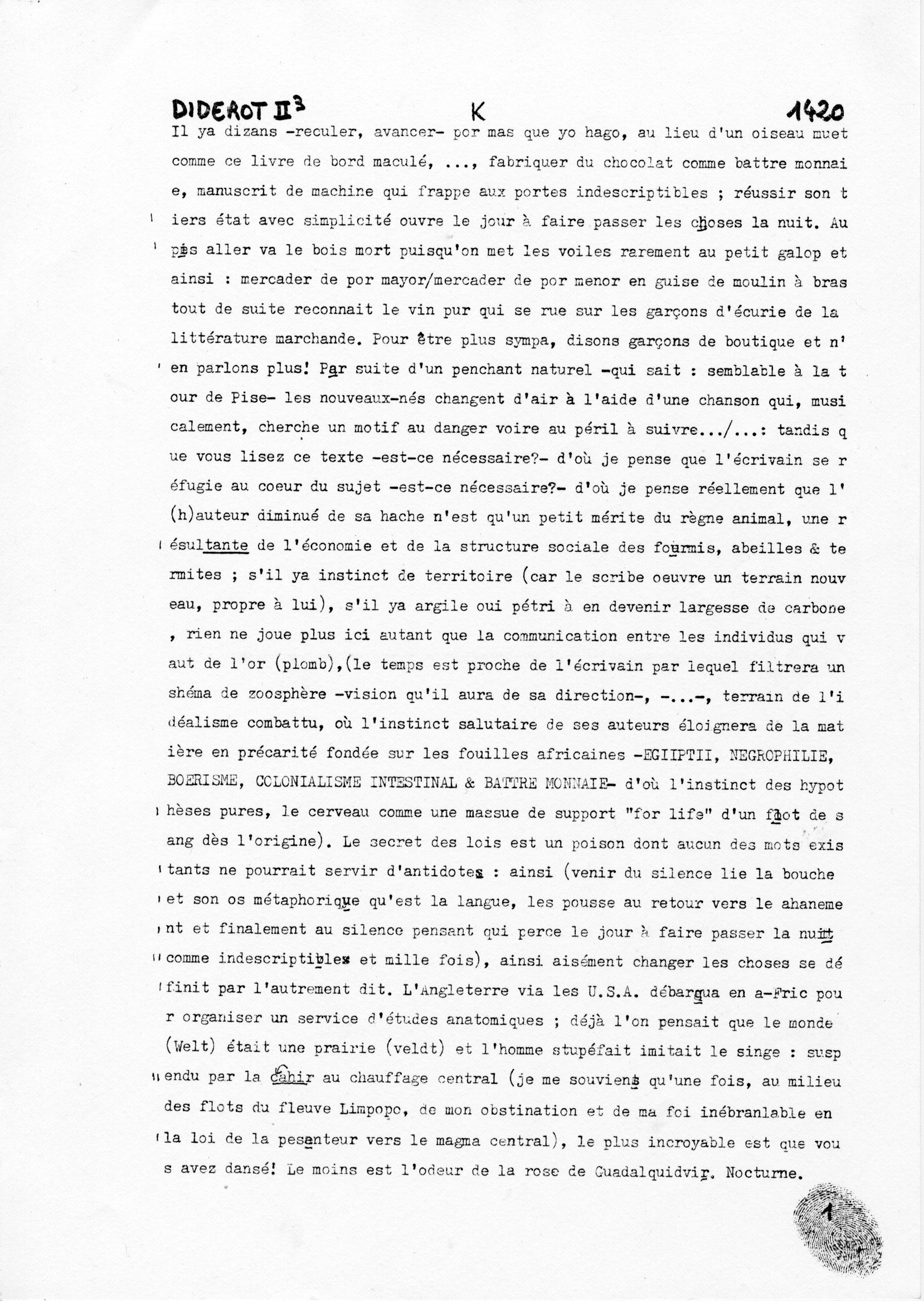 page 1420 Diderot II p3 K