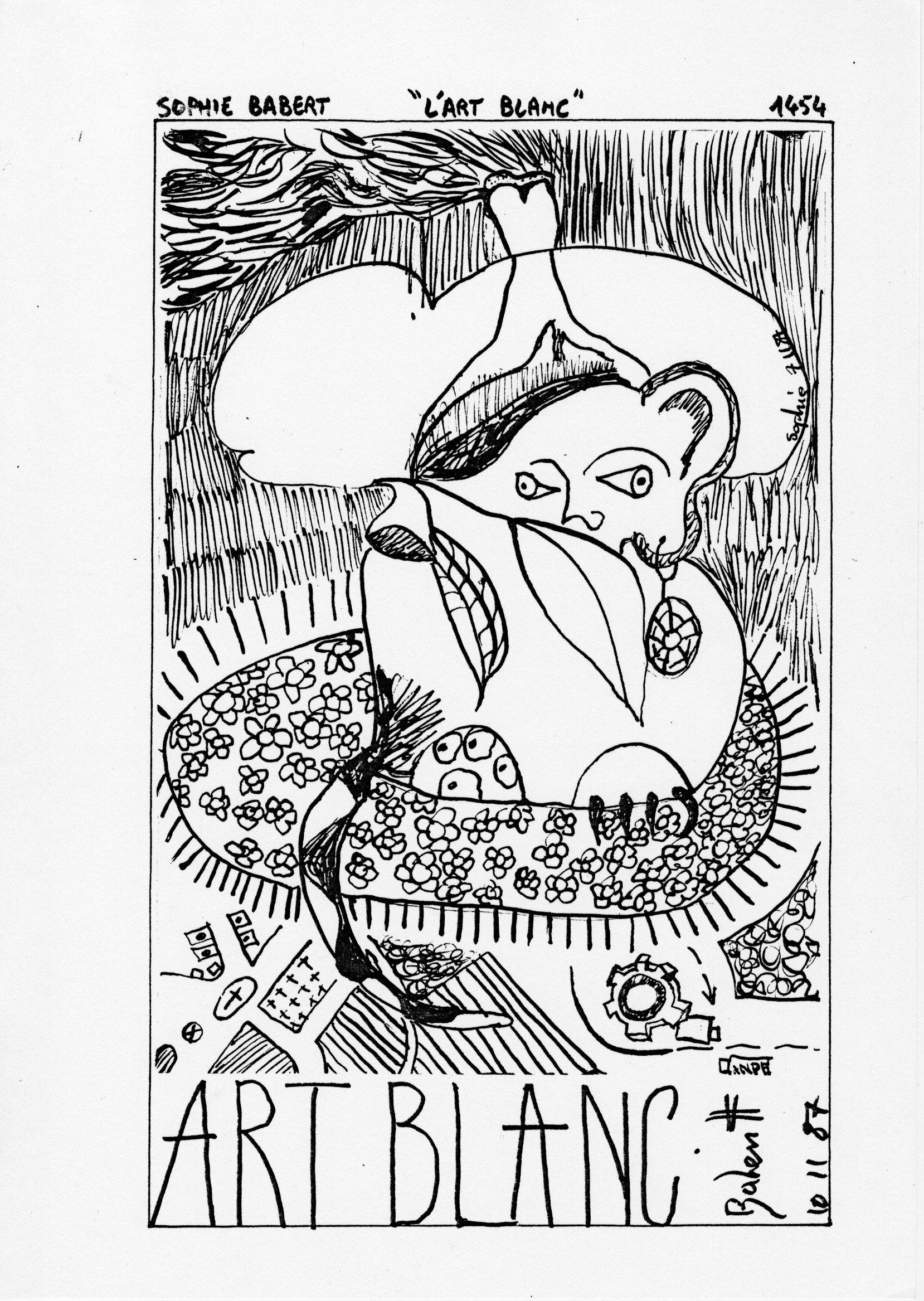 page 1454 S. Babert L'ART BLANC