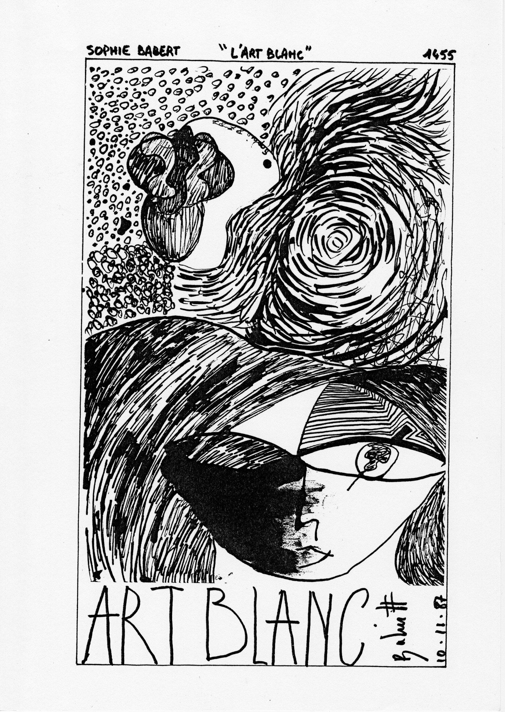 page 1455 S. Babert L'ART BLANC