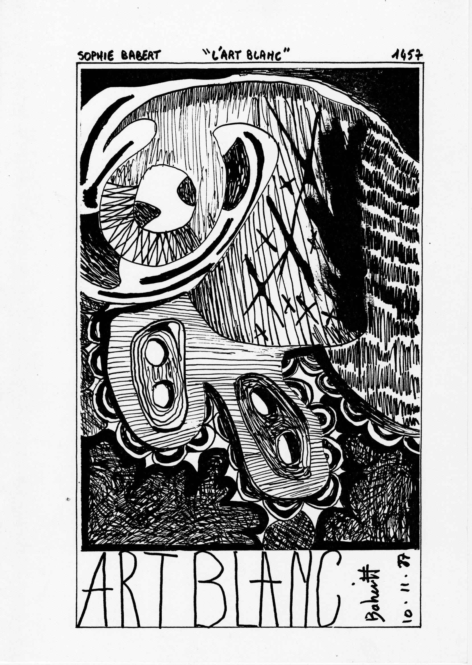 page 1457 S. Babert L'ART BLANC