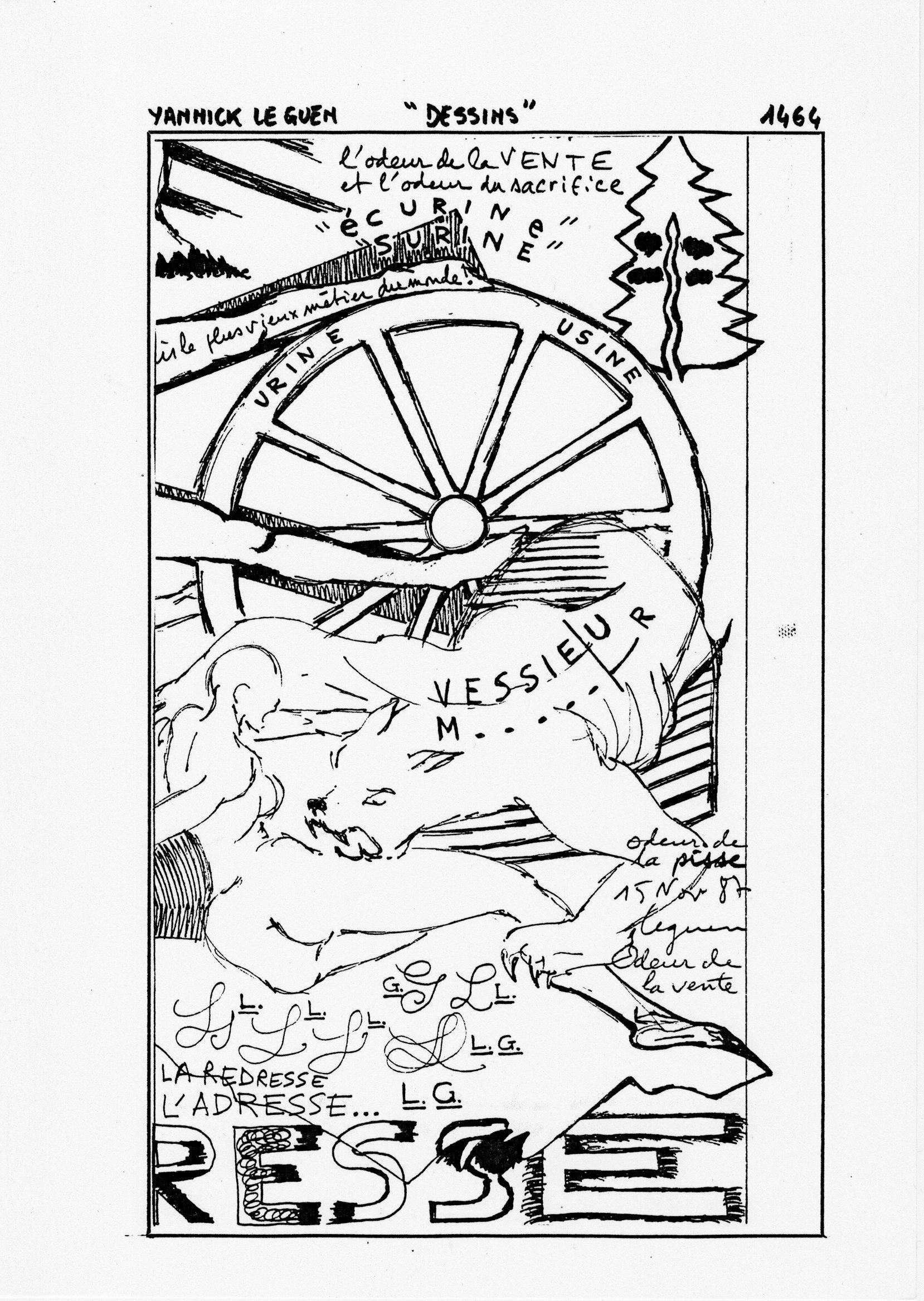 page 1464 Y. Leguen DESSINS