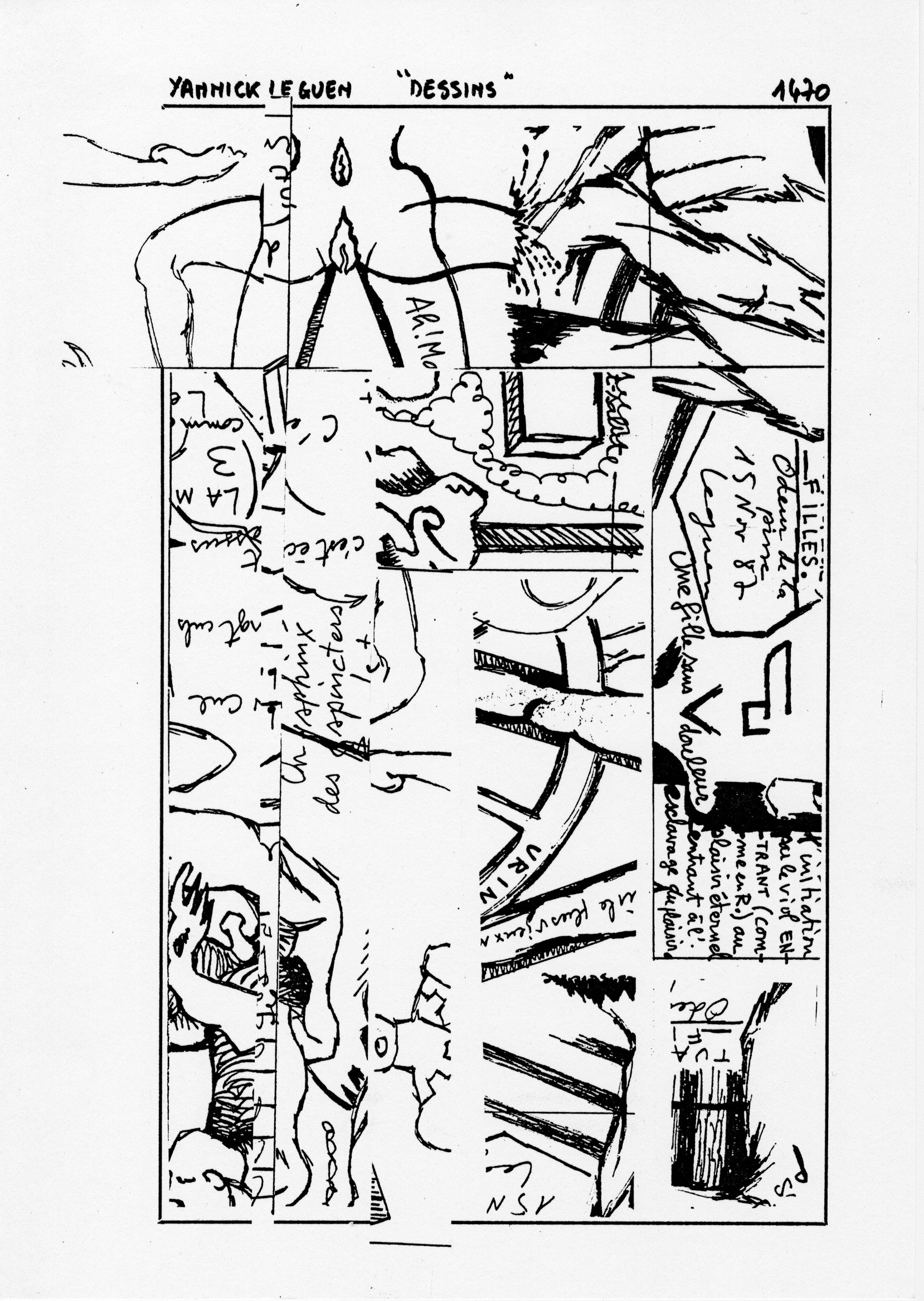 page 1470 Y. Leguen DESSINS