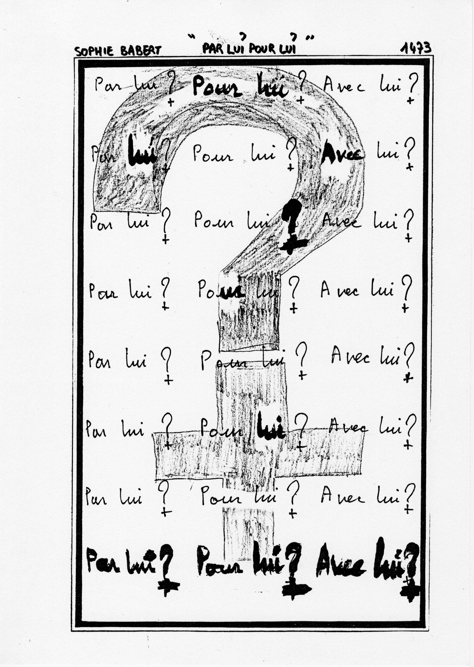 page 1473 S. Babert PAR LUI POUR LUI