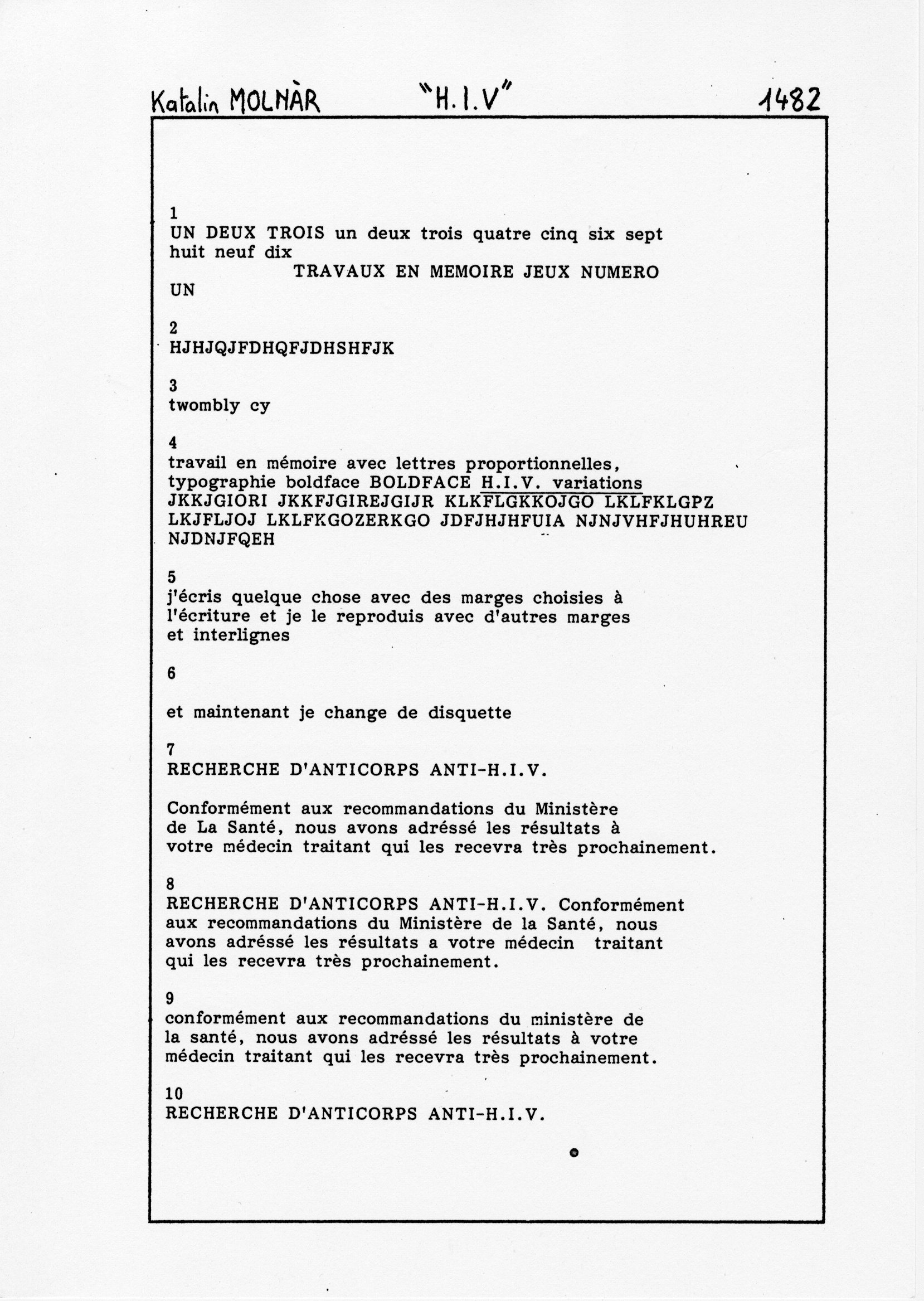 page 1482 K. Molnar H.I.V.