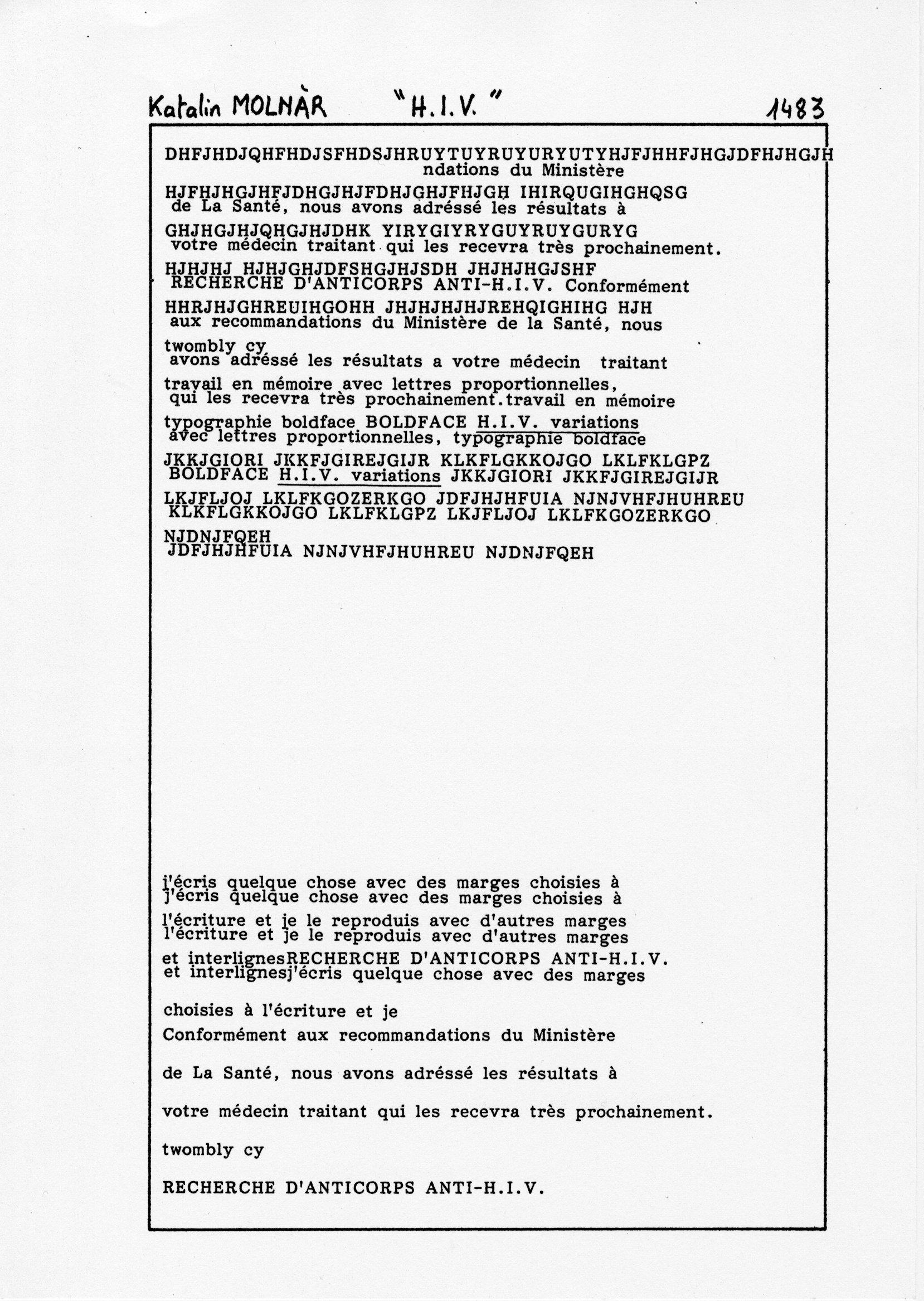 page 1483 K. Molnar H.I.V.