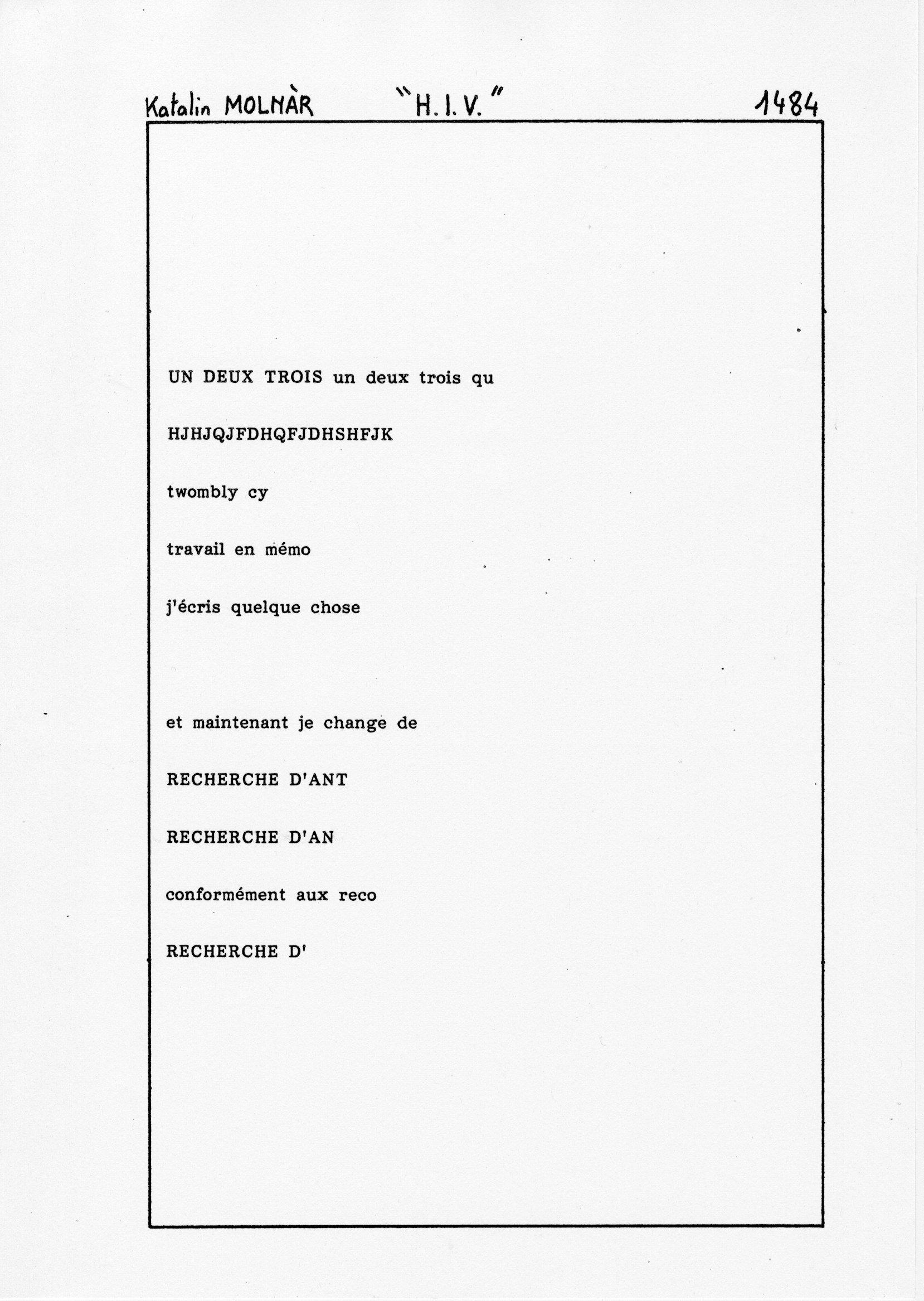 page 1484 K. Molnar H.I.V.