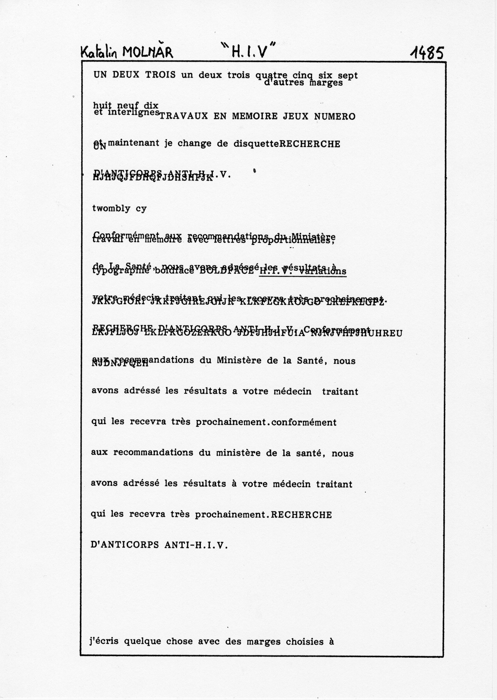 page 1485 K. Molnar H.I.V.