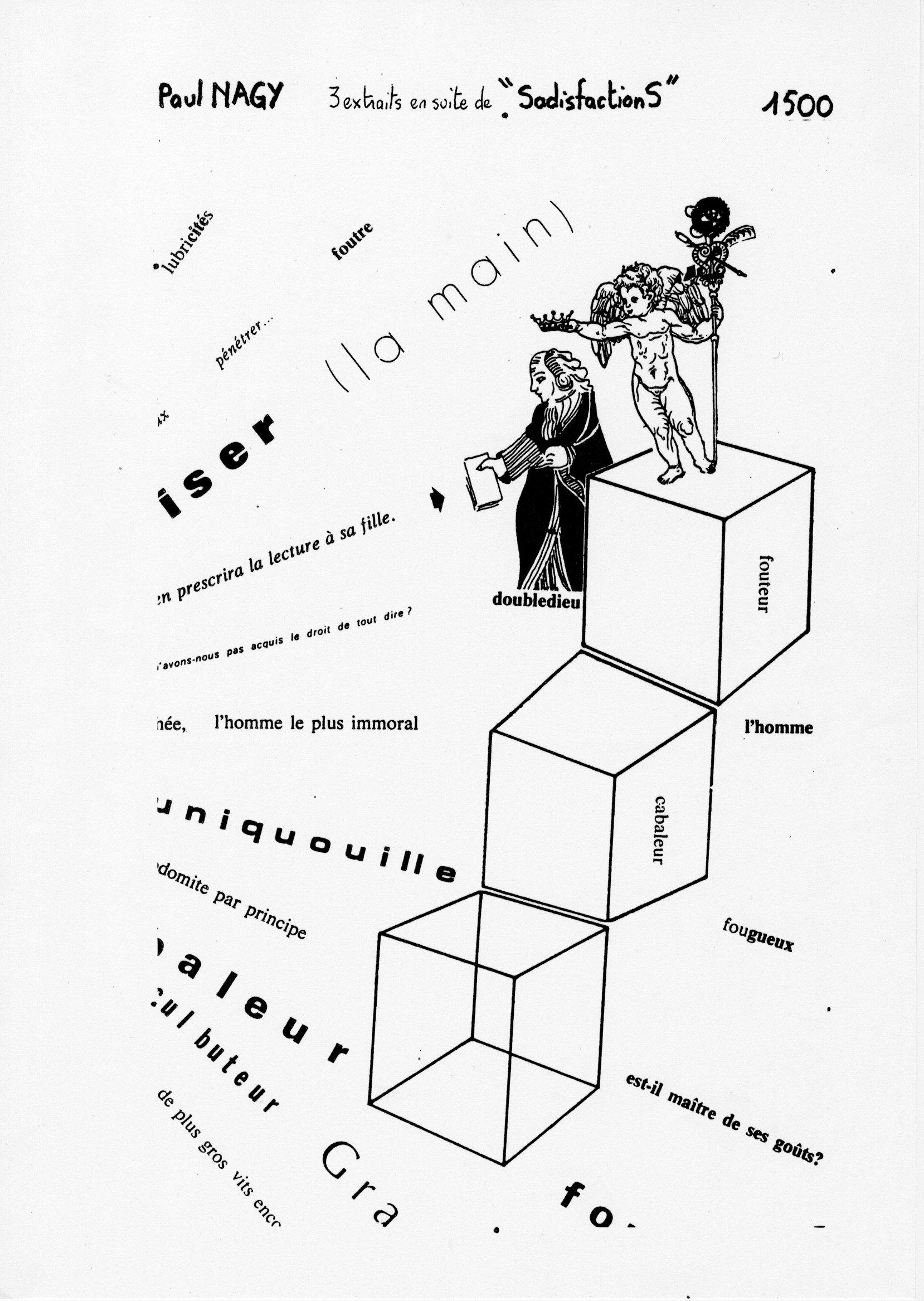 page 1500 P. Nagy 3 extraits en suite de SadisfactionS