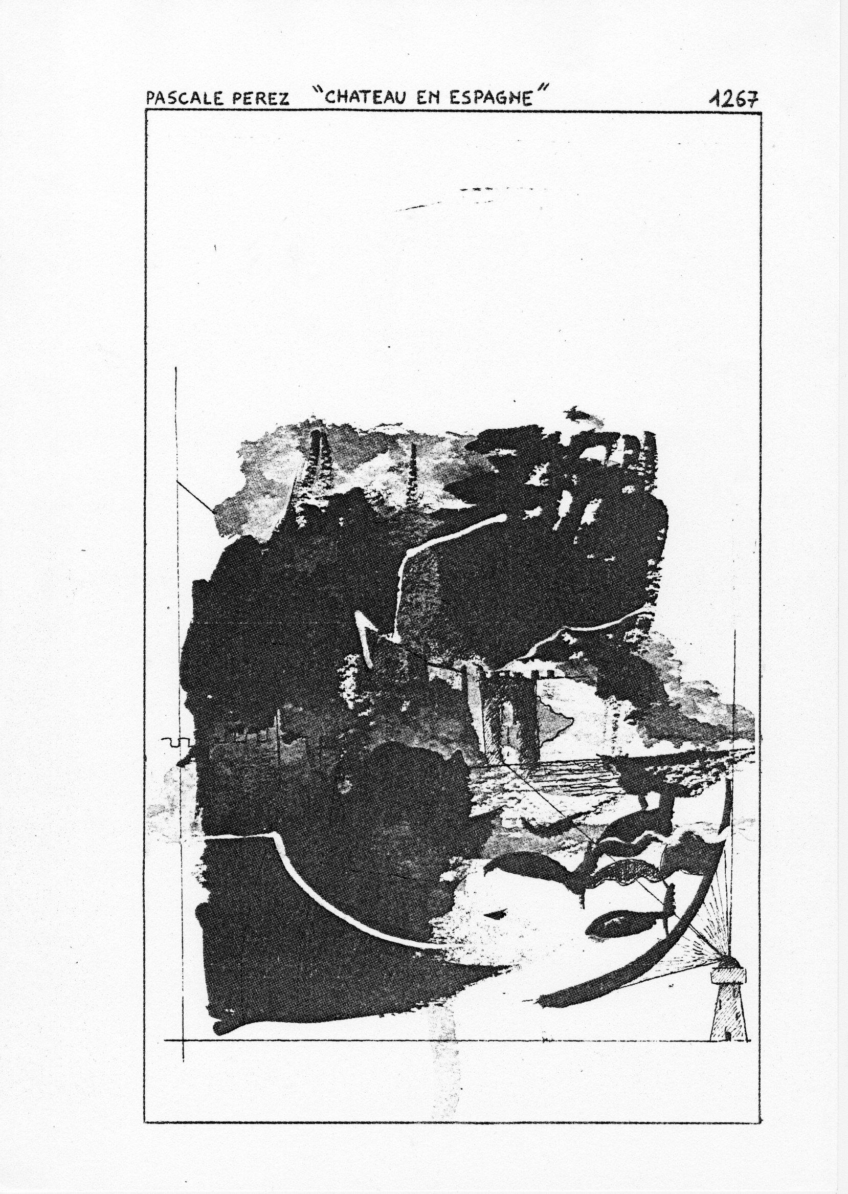 page 1267 P. PEREZ CHATEAU EN ESPAGNE
