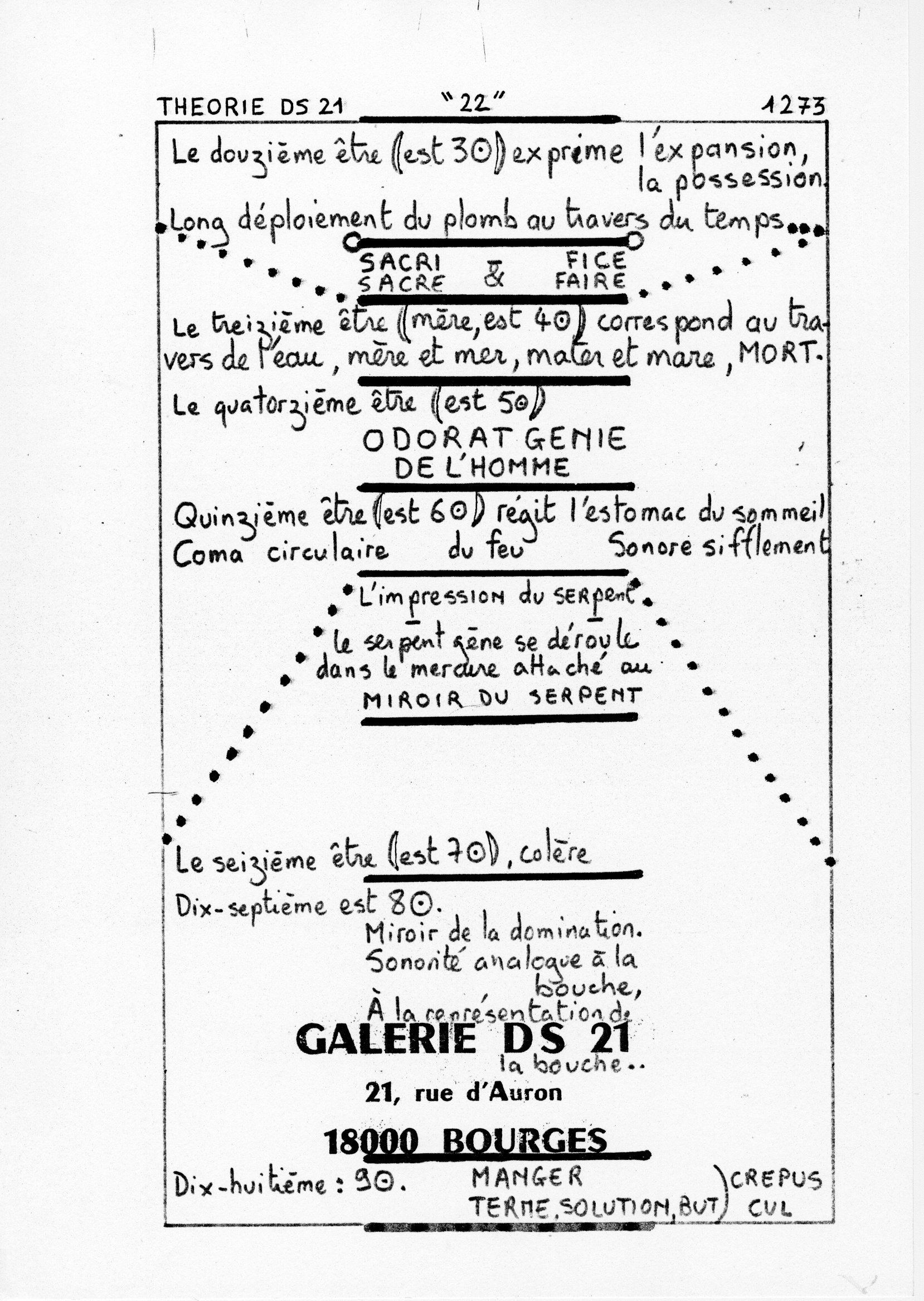 page 1273 Théorie D.S. 21 22