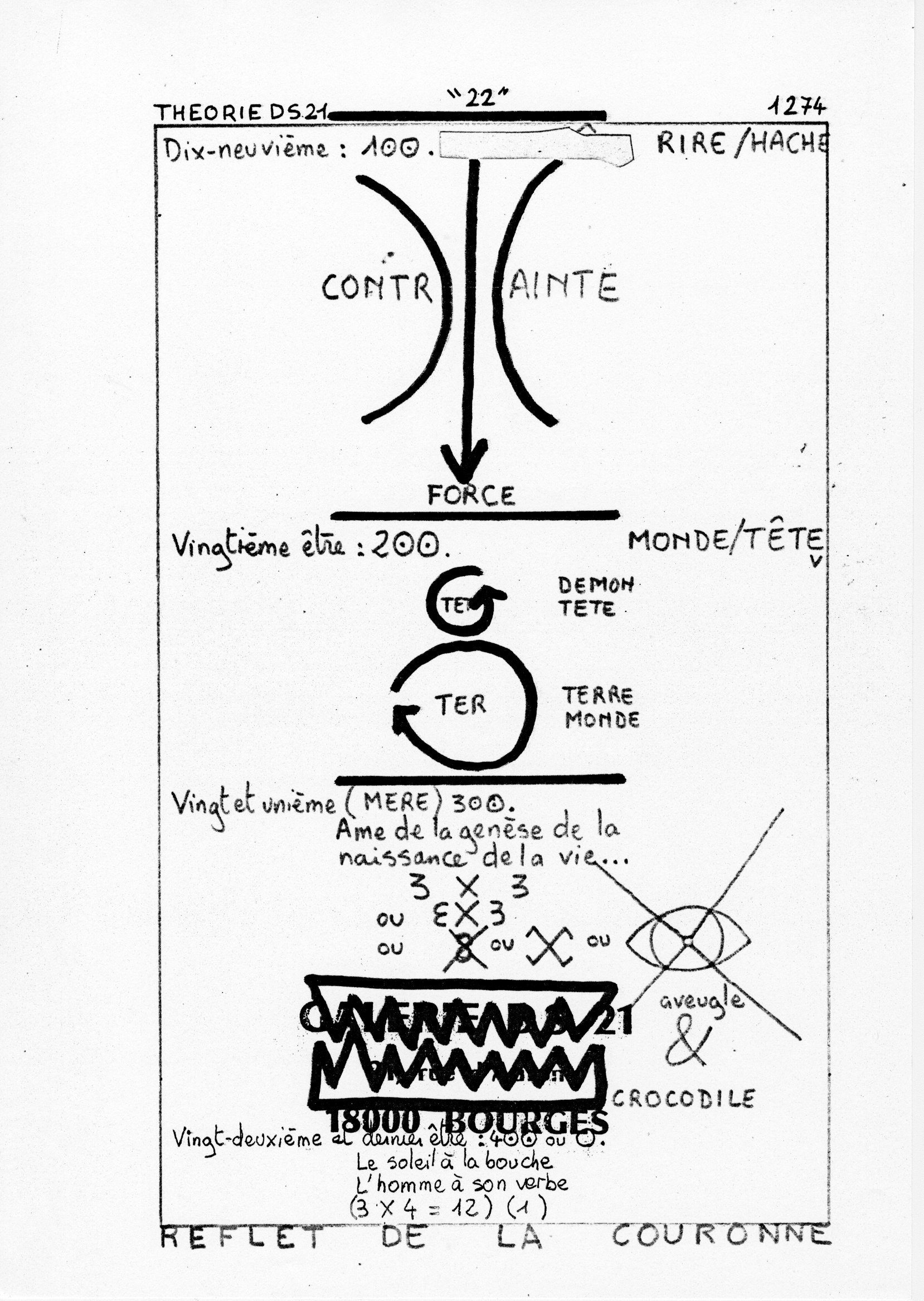 page 1274 Théorie D.S. 21 22
