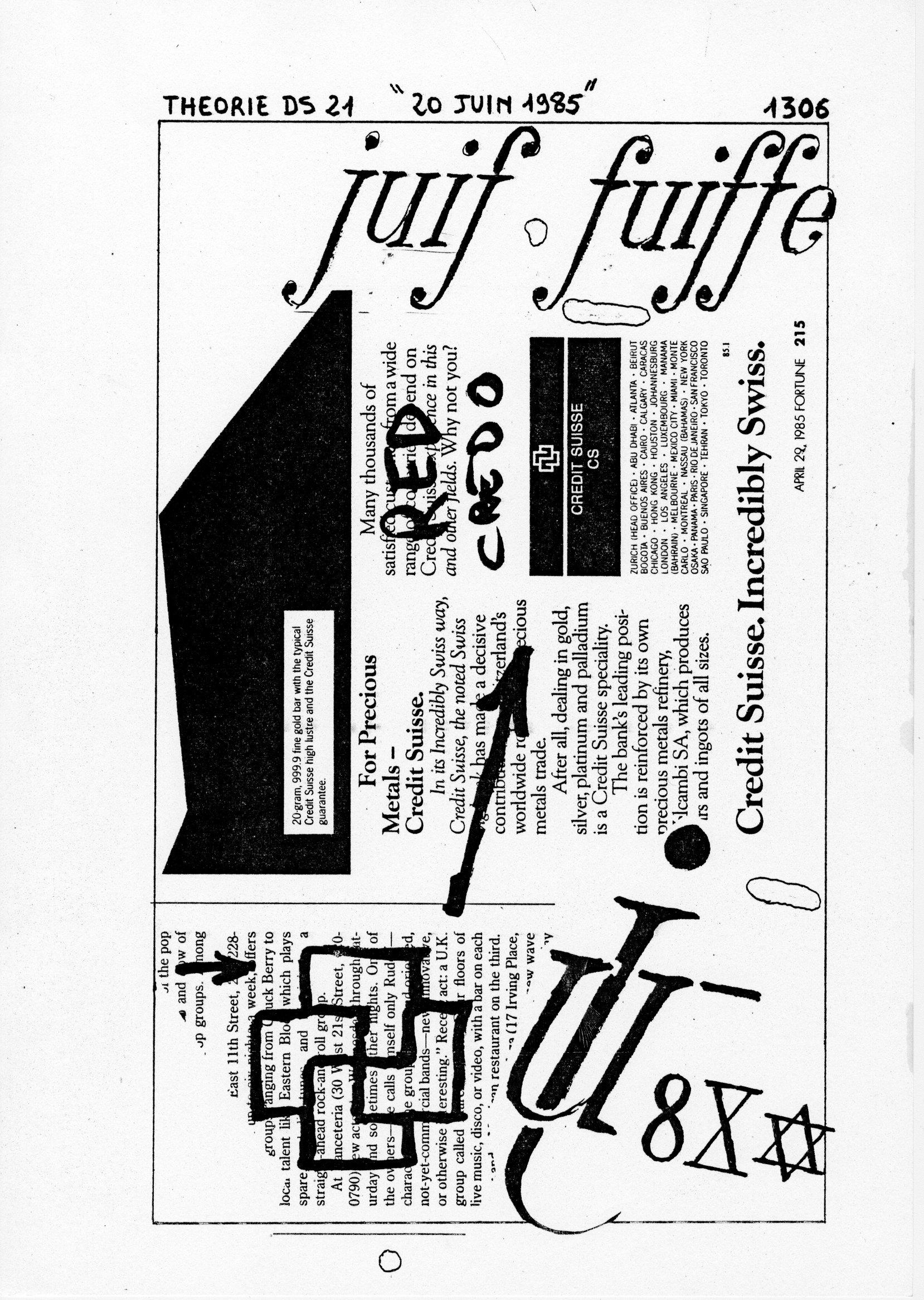 page 1306 Théorie D.S. 21 20 JUIN 1985