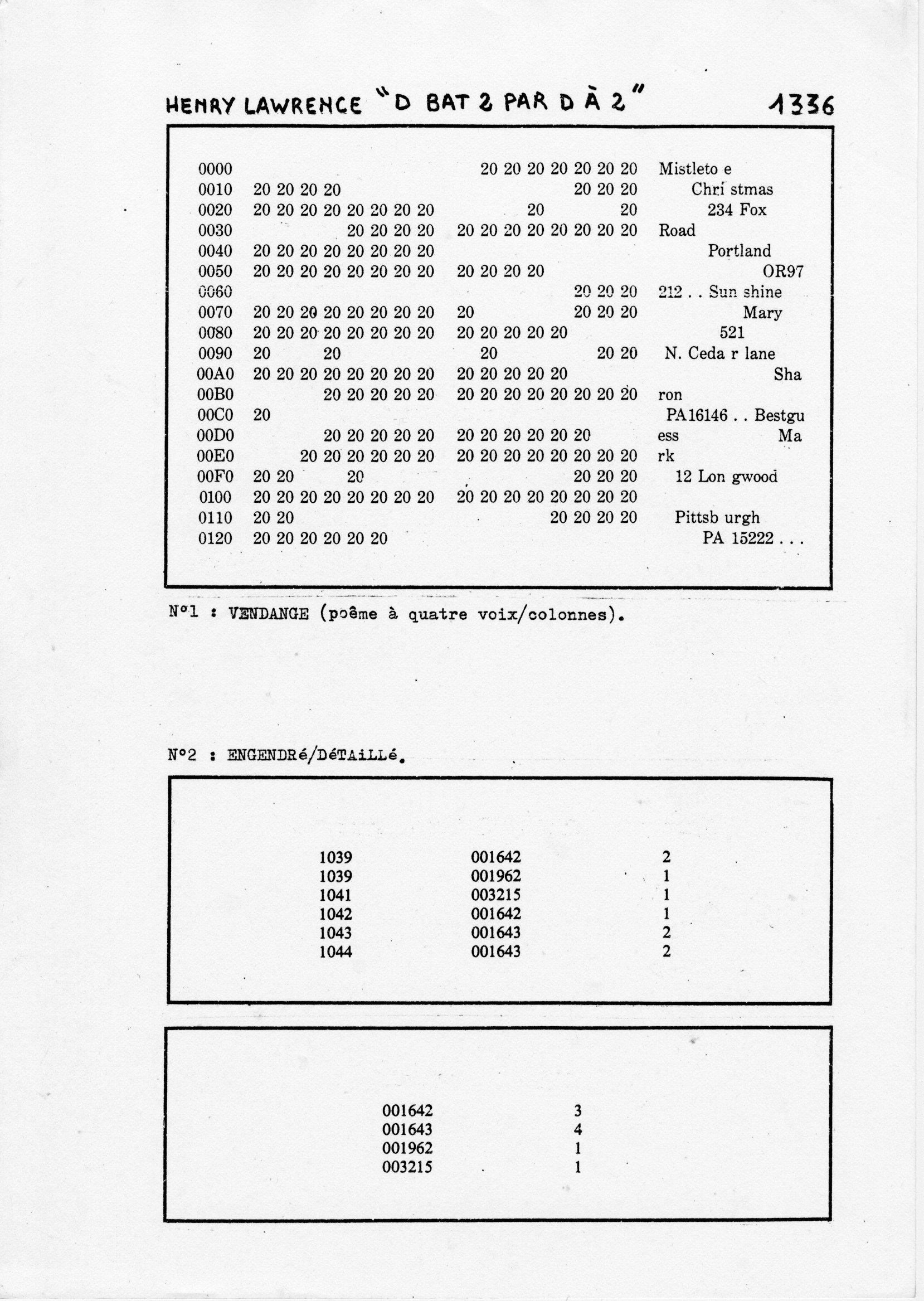 page 1336 H. Lawrence D BAT 2 PAR D A 2