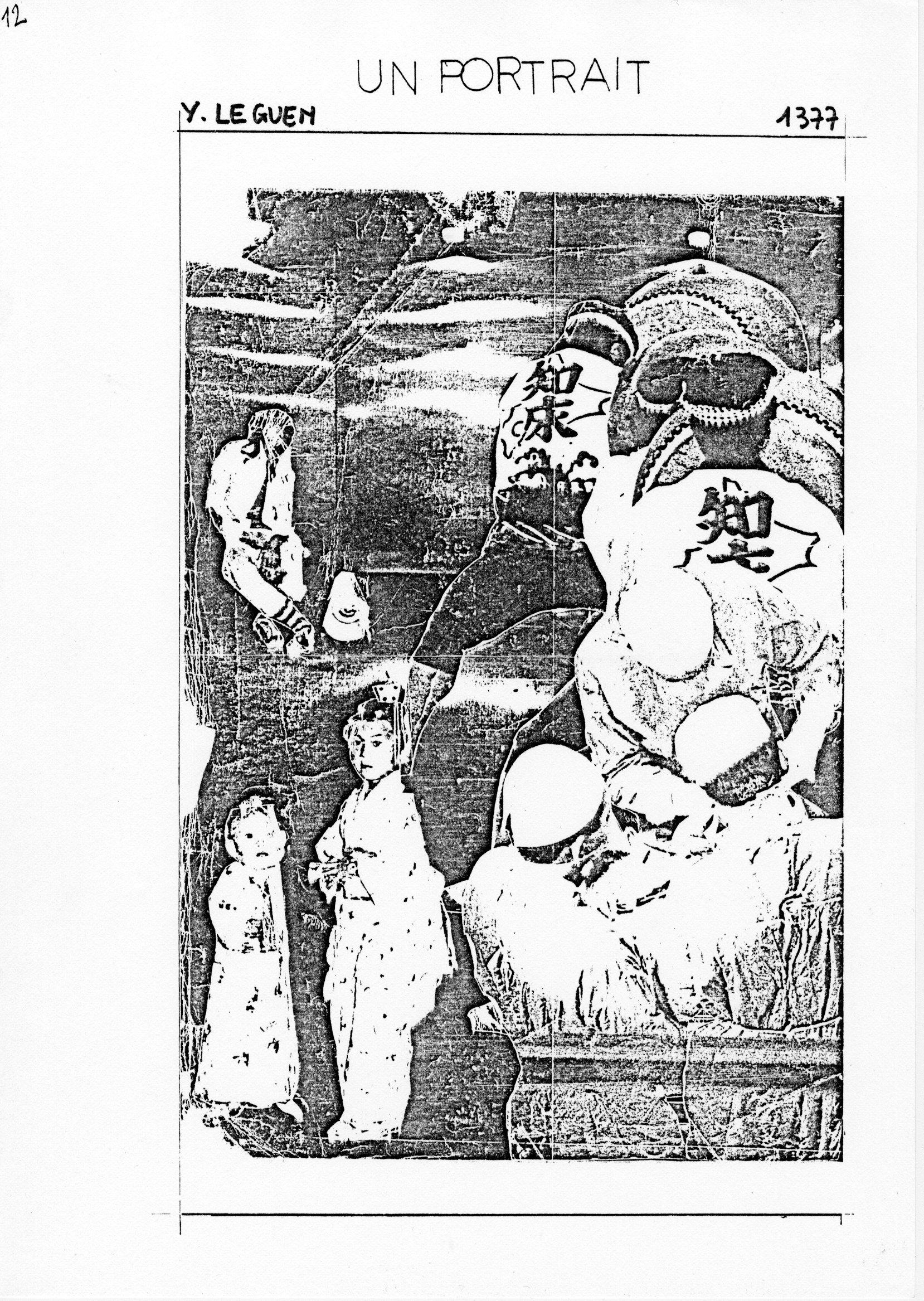 page 1377 Y. Leguen UN PORTRAIT