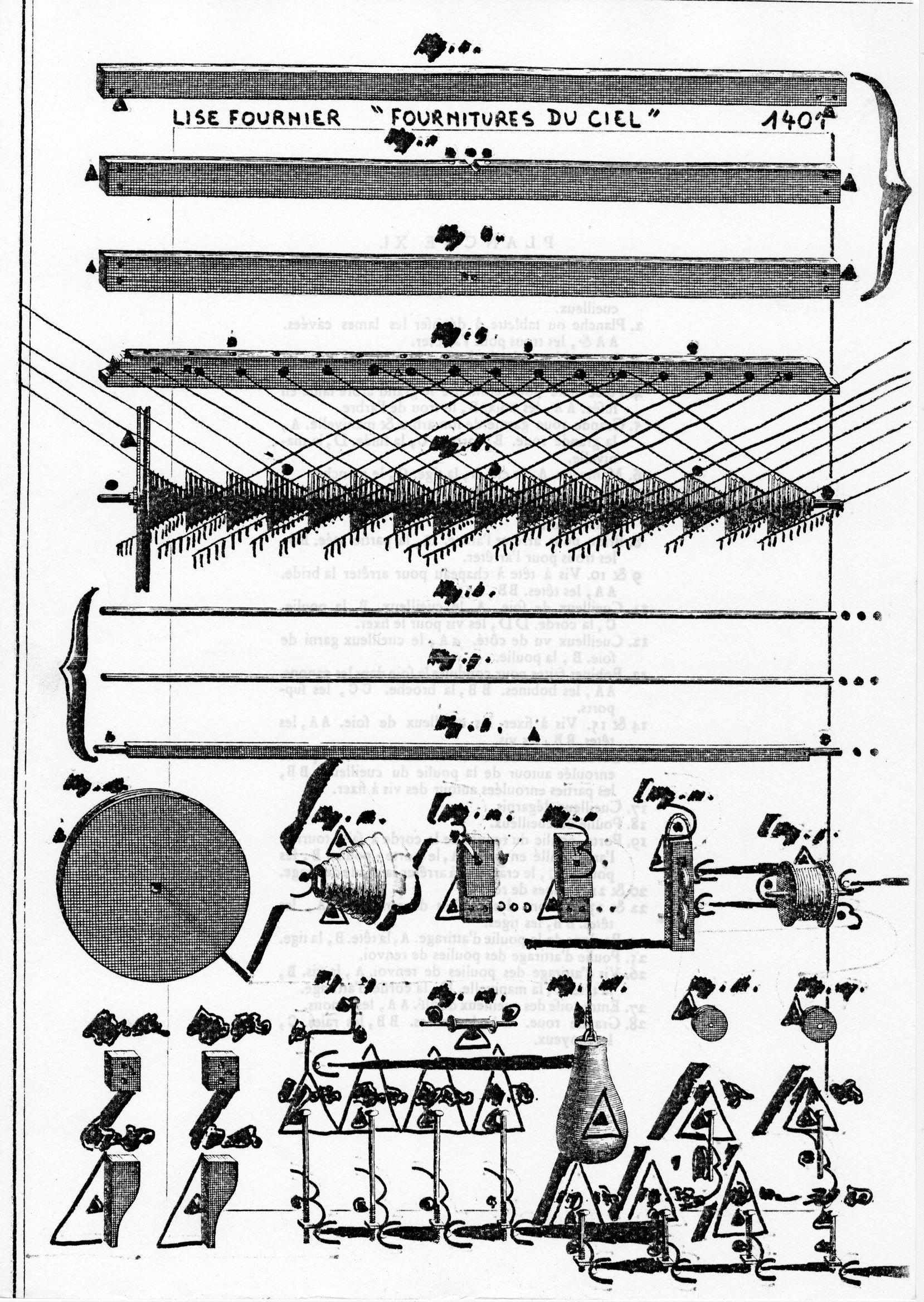 page 1401recto L. Fournier FOURNITURE DU CIEL